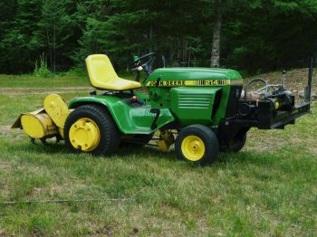 Building A Hydraulic System For John Deere D140 Lawn Mower