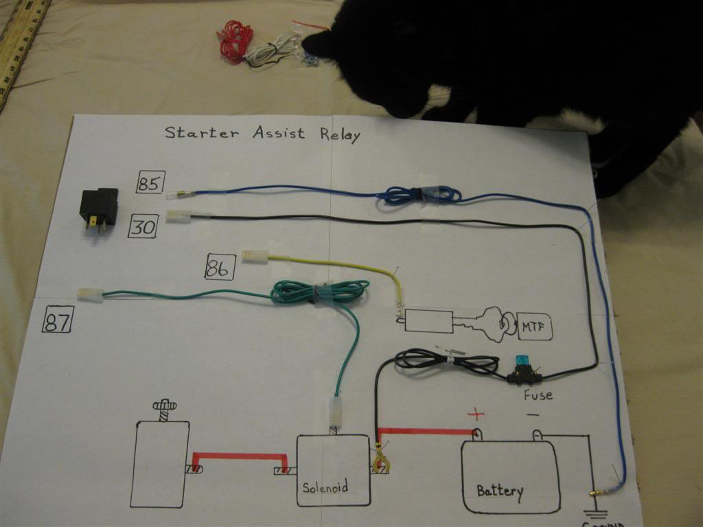 Starter Assist Relay Assembly and Install - MyTractorForum.com - The ...