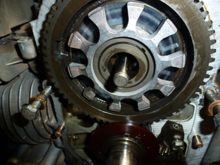 Onan Governor Flyball Spacer Fix - MyTractorForum com - The