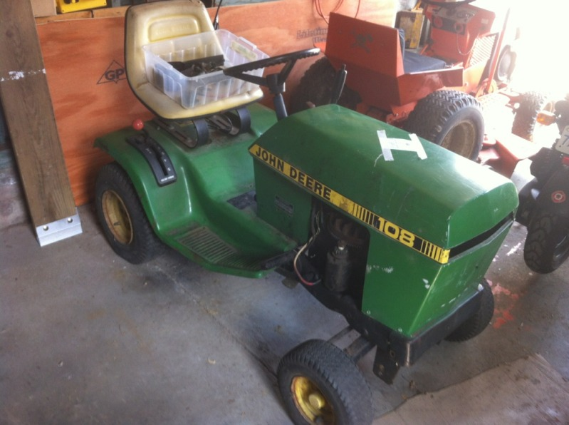 Looking for some information - jd 108   My Tractor ForumMy Tractor Forum