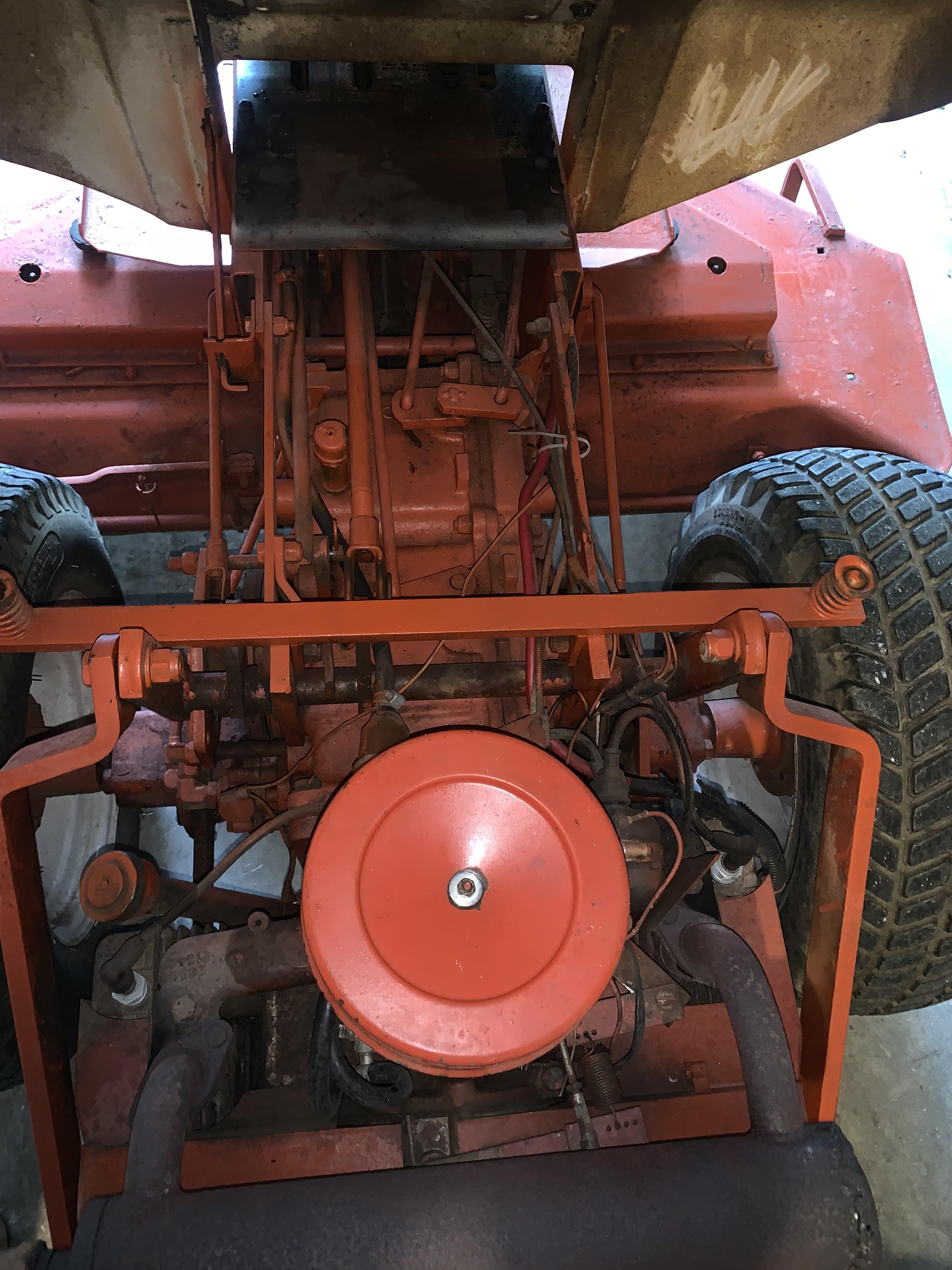 Gravely 816 817 8179 onan starter bracket conversion