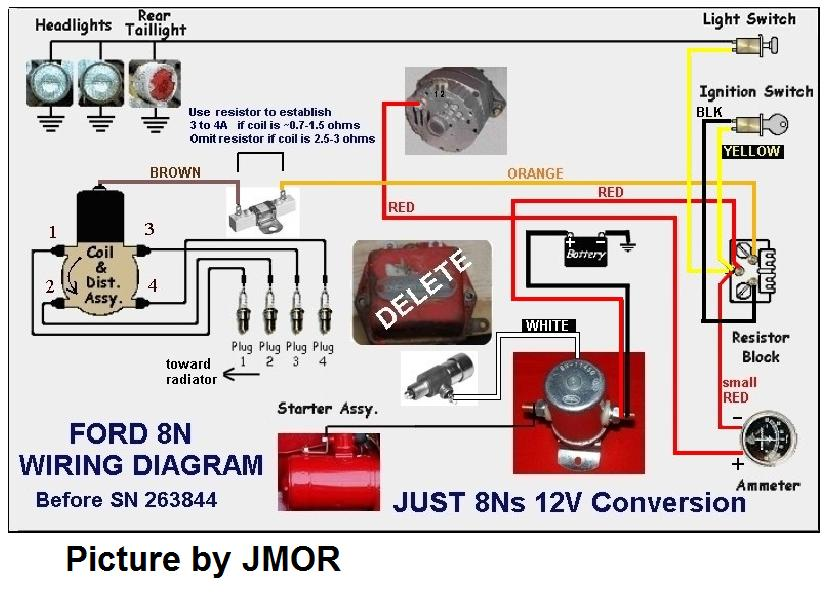 8N 12 Volt Wiring Diagram from www.mytractorforum.com