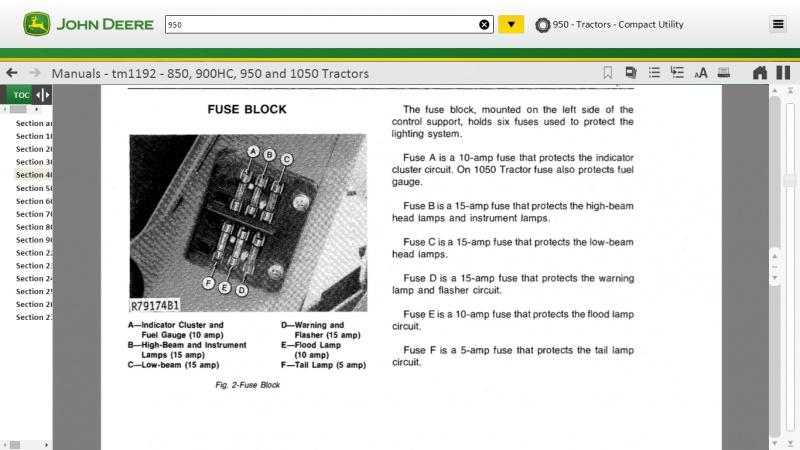 John Deere 950 Wiring and Fuses | My Tractor Forum on john deere 445 wiring-diagram, john deere 850 hydraulic system diagram, john deere m wiring-diagram, john deere 850 controls, john deere 322 wiring-diagram, john deere 850 fuse, john deere z225 wiring-diagram, john deere 650 ignition diagram, john deere 1020 wiring-diagram, john deere 850 drive shaft, john deere 850 fuel system, john deere 850 circuit breaker, john deere tractors, moto guzzi 850 wiring diagram, john deere 455 wiring-diagram, mercury 850 wiring diagram, john deere 155c wiring-diagram, john deere 133 wiring-diagram, john deere 145 wiring-diagram, john deere lx255 wiring-diagram,