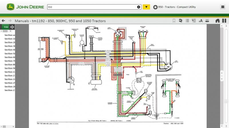 [SCHEMATICS_48EU]  John Deere 950 Wiring and Fuses | My Tractor Forum | John Deere 2520 Wiring Diagram |  | My Tractor Forum