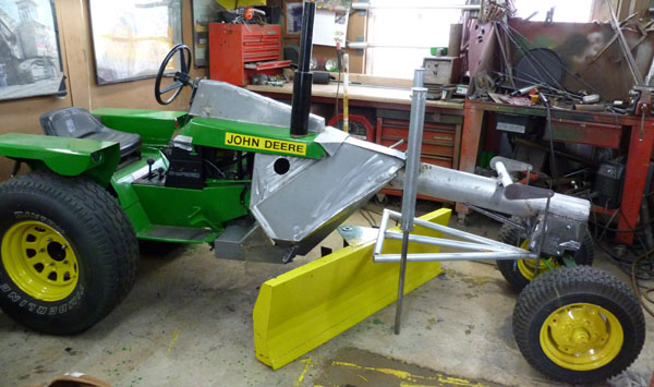 Mini Road Grader/Garden Tractor Project - Page 2