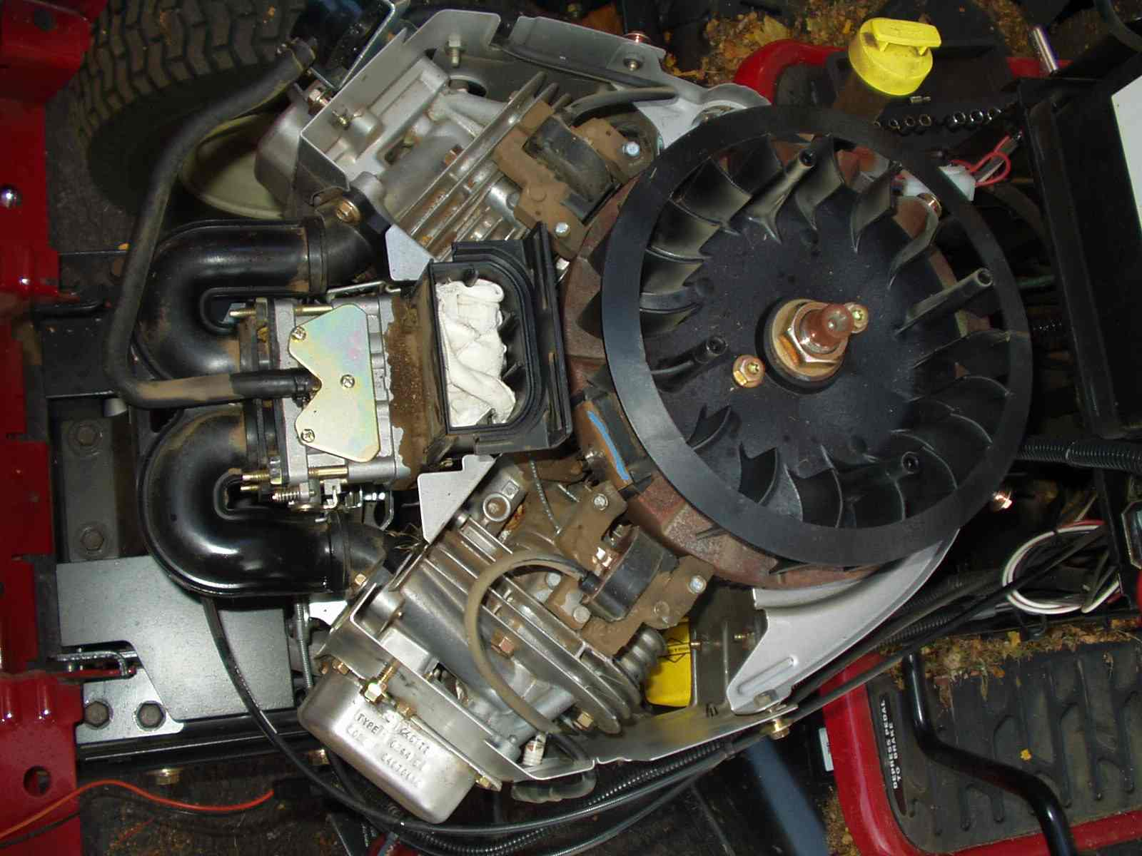 22 Hp Briggs And Stratton V Twin Engine 20 Diagram 26hp Els Air Filter Problem Mytractorforum