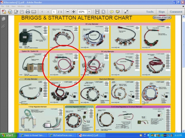 General charging questionDixon ZTR 311 MyTractorForum – Dixon Ztr 4421 Wiring-diagram