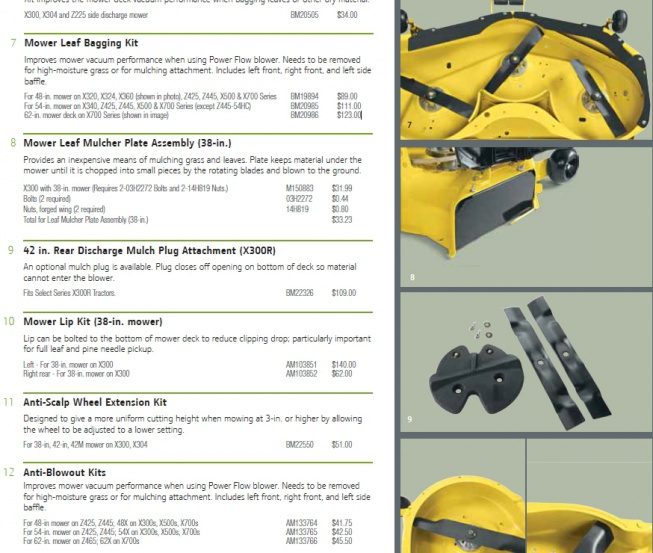 Mower Deck Blowout Fix - MyTractorForum com - The