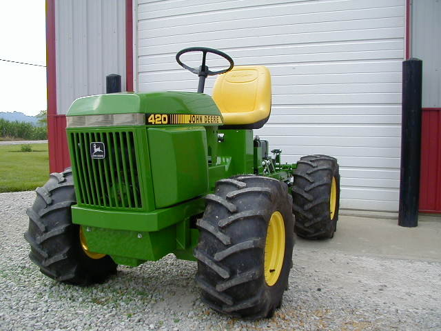 4x4 articulating 110 MyTractorForumcom The Friendliest