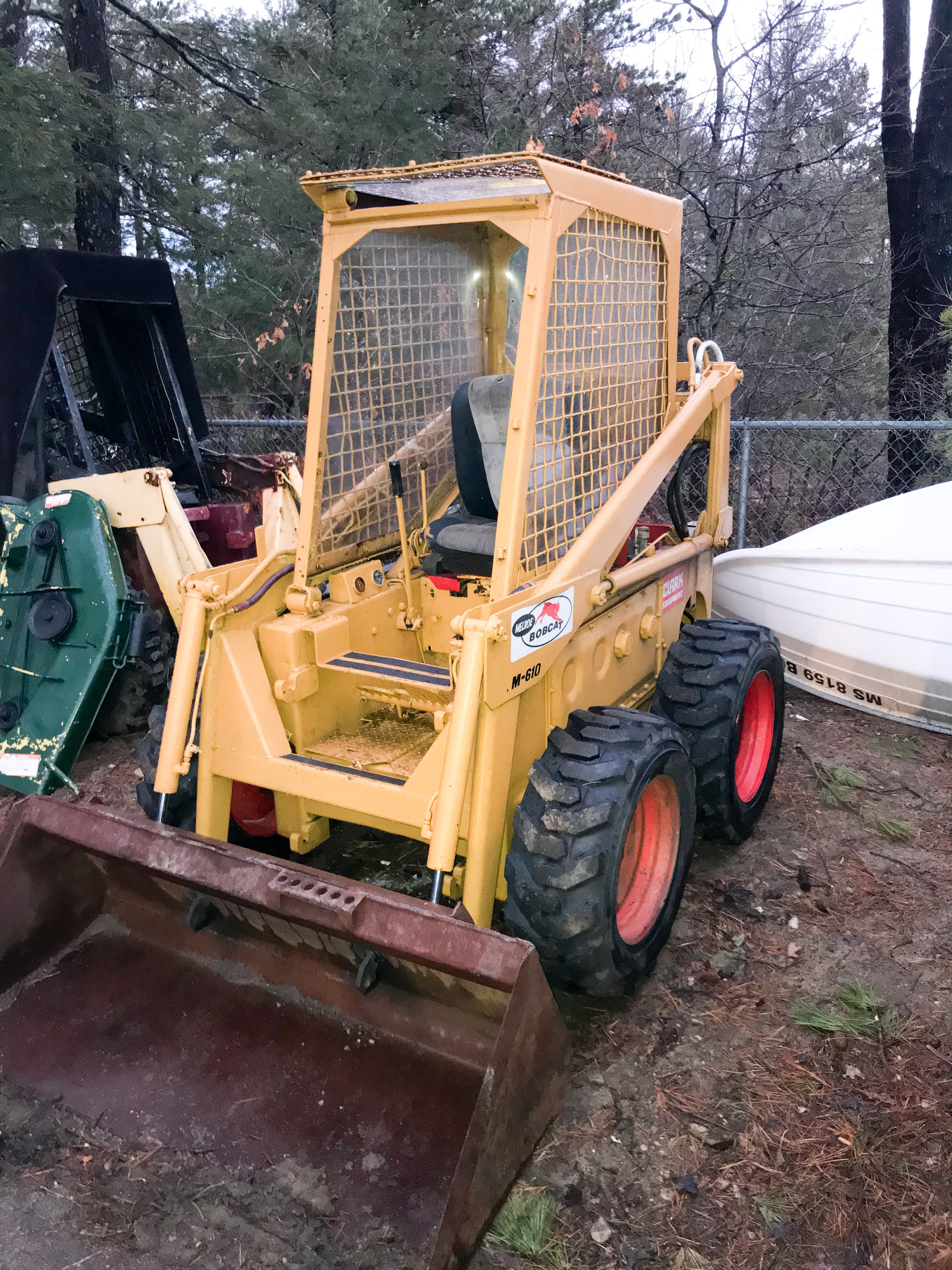 Bobcat 610 Melroe - Variable Speed Drive Issue