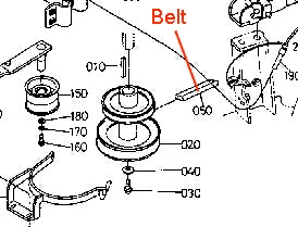Main Drive Belt Diagram Husqvarna in addition Mtd 46 Inch Deck Belt Diagram Write Tip 1 9 Representation Delectable Murray Model 46577x71a 8 together with 2923 John Deere L G Belt Routing Guide moreover Craftsman 54 Inch Mower Deck Belt Diagram Newbelt Intended For Huskee Lawn Mower Parts Diagram moreover Murray mower will not start. on wiring diagram for husqvarna zero turn mower