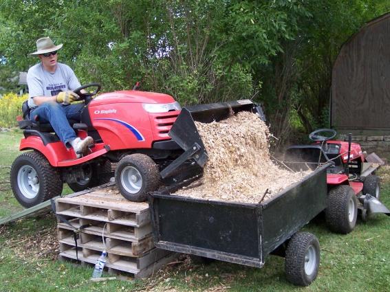 craftsman front tractor scoop mytractorforumcom