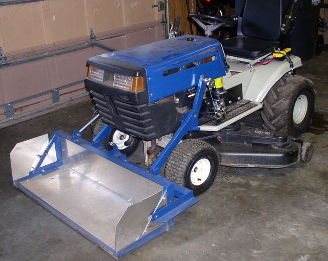 Diy Front End Loader Garden Tractor Diy Do It Your Self