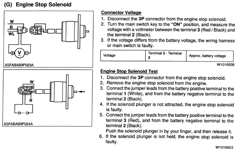 kubota stop solenoid wiring kubota image wiring bx2200 will not run mytractorforum com the friendliest tractor on kubota stop solenoid wiring