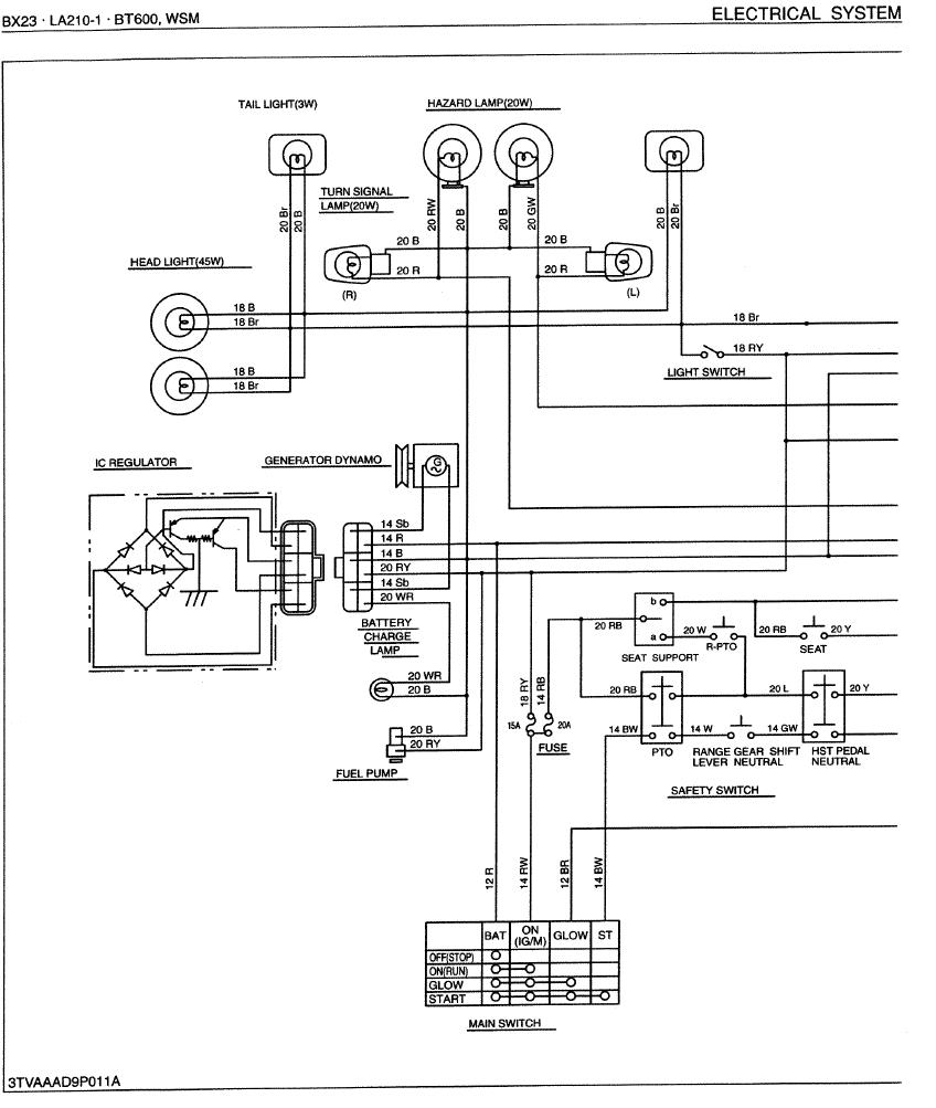 Wireing Dynamo MyTractorForum The Friendliest Tractor – Kubota Alternator Wiring Schematic