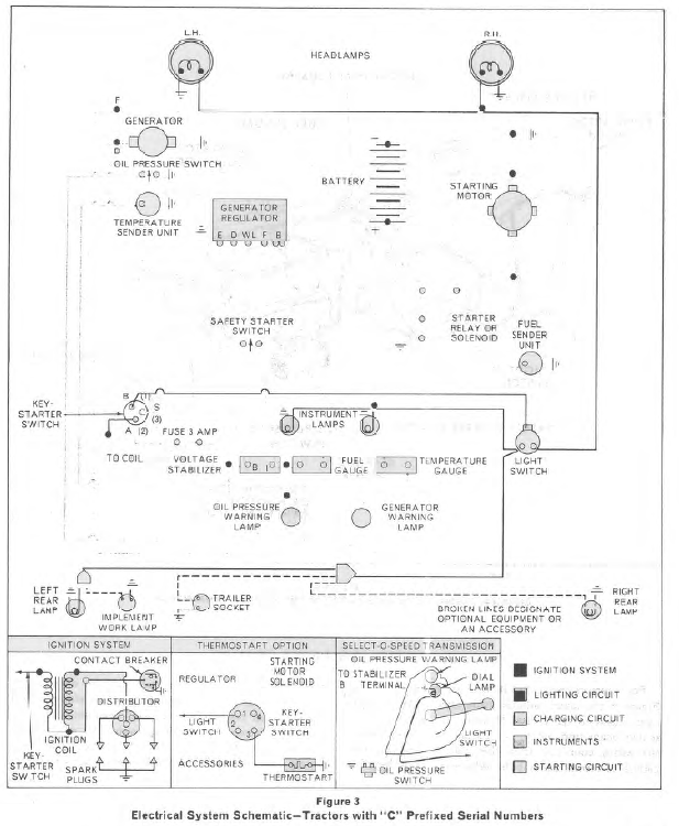 Ford 2000 Tractor Wiring Diagram 6 Volt System