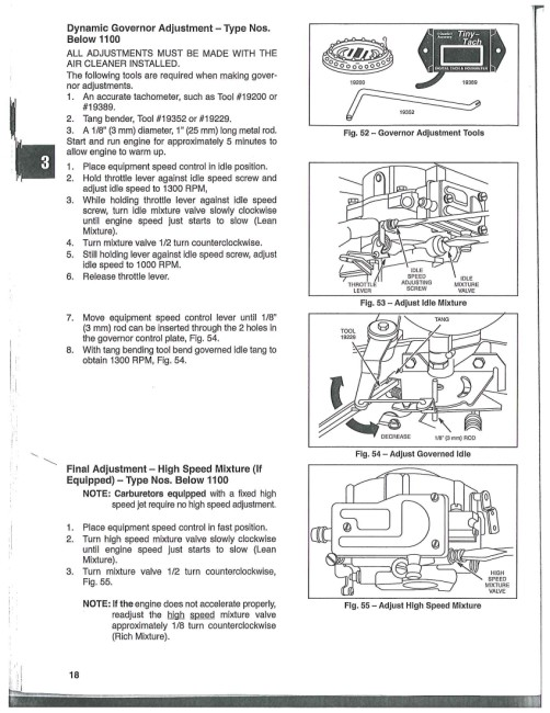 Briggs 18 hp opposed 422707 ? - MyTractorForum com - The