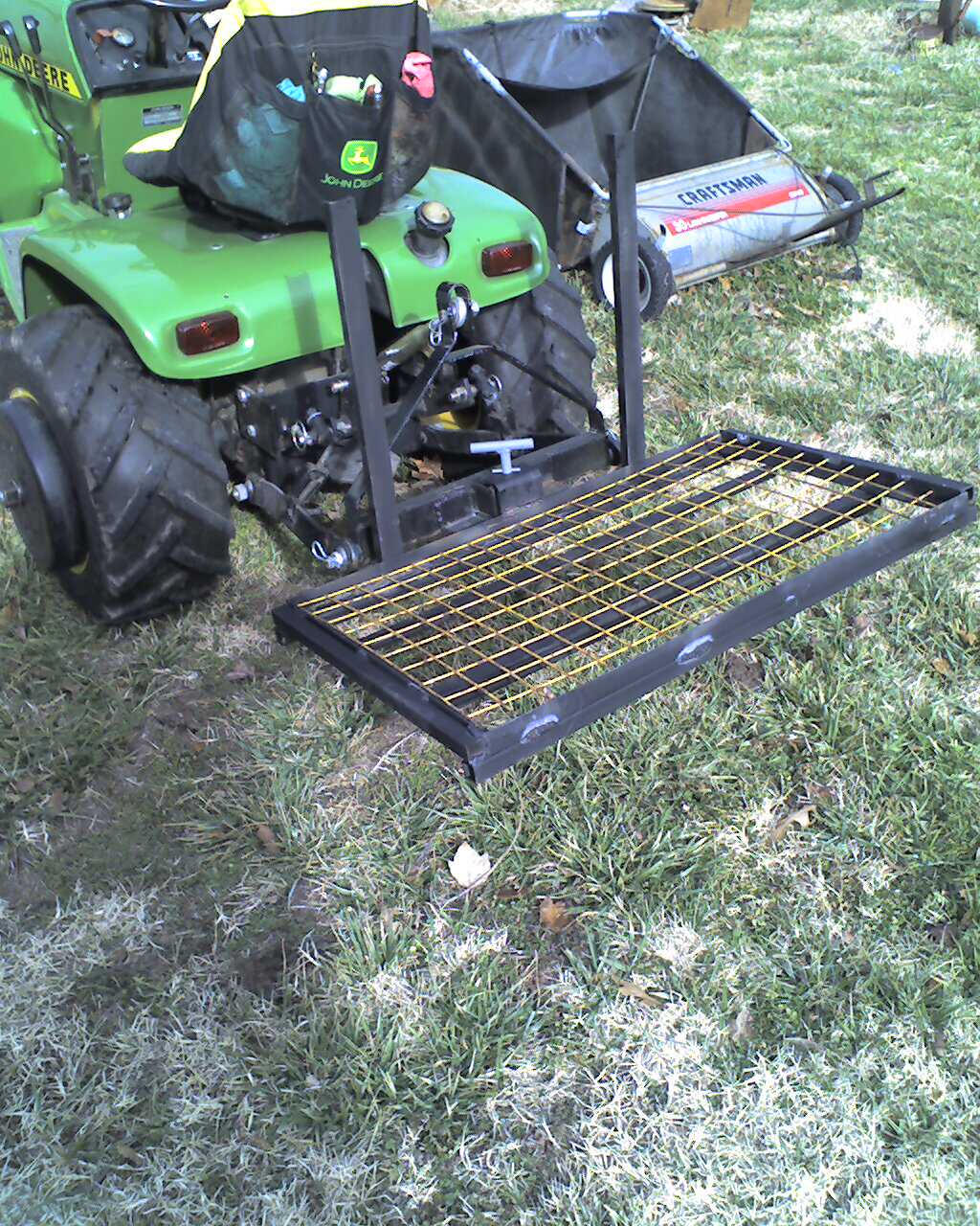 Harbor Freight Cargo Carrier Page 2 Mytractorforum Com
