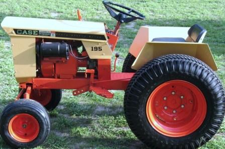 Newly Restored Case 195 MyTractorForumcom The Friendliest