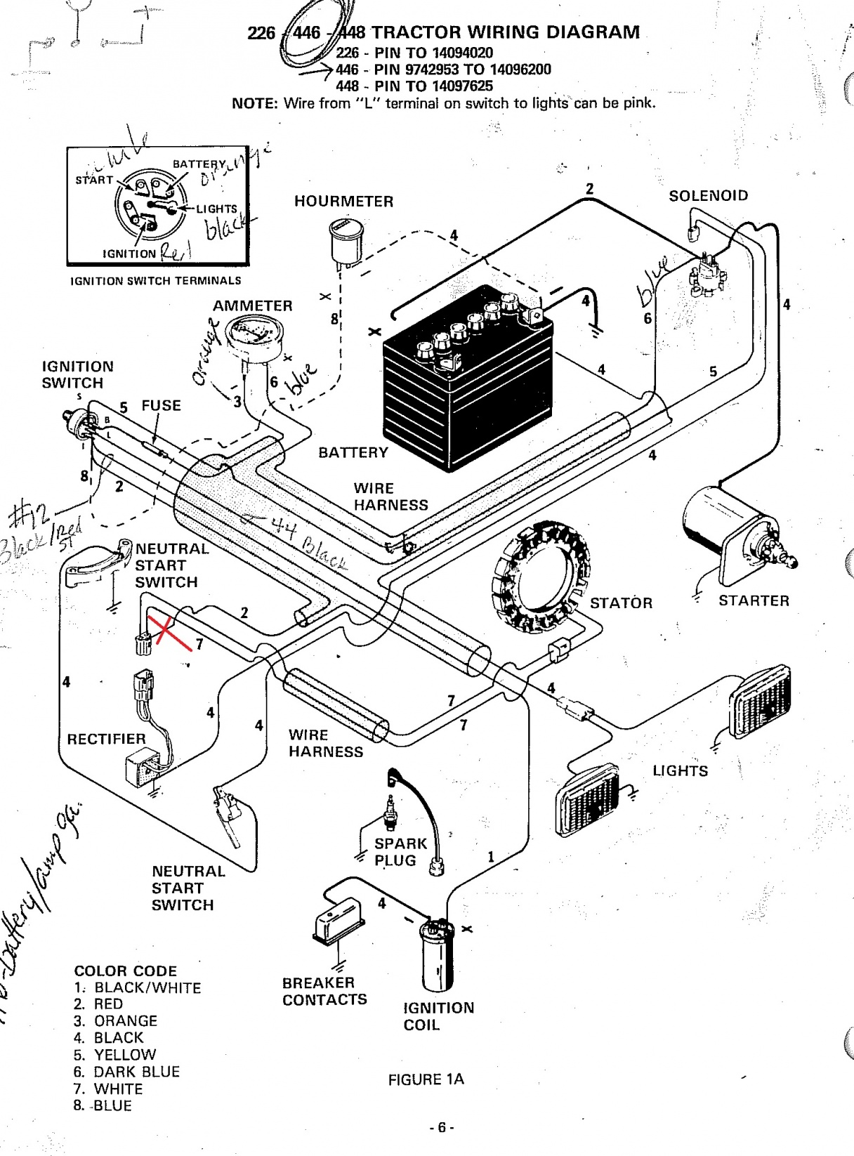 Case Ingersoll 446 Wiring Diagram Onan B48m Charging Problem The Friendliest Click Image For Larger Version Name Electrical Fix Views 774 Size