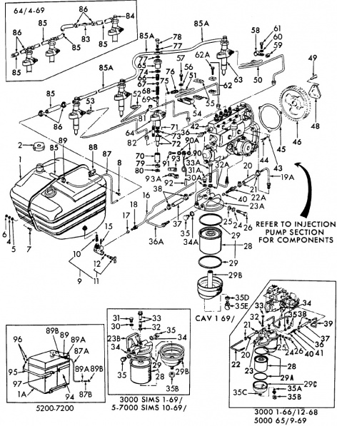 Ford 3000 Diesel Injector Leak Off Line - Mytractorforum Com