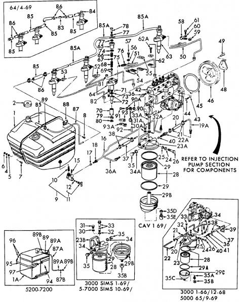 33 Ford 3000 Hydraulic Pump Diagram