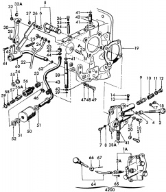 Ford 3000 Tractor Transmission Diagram - Diagrams Catalogue