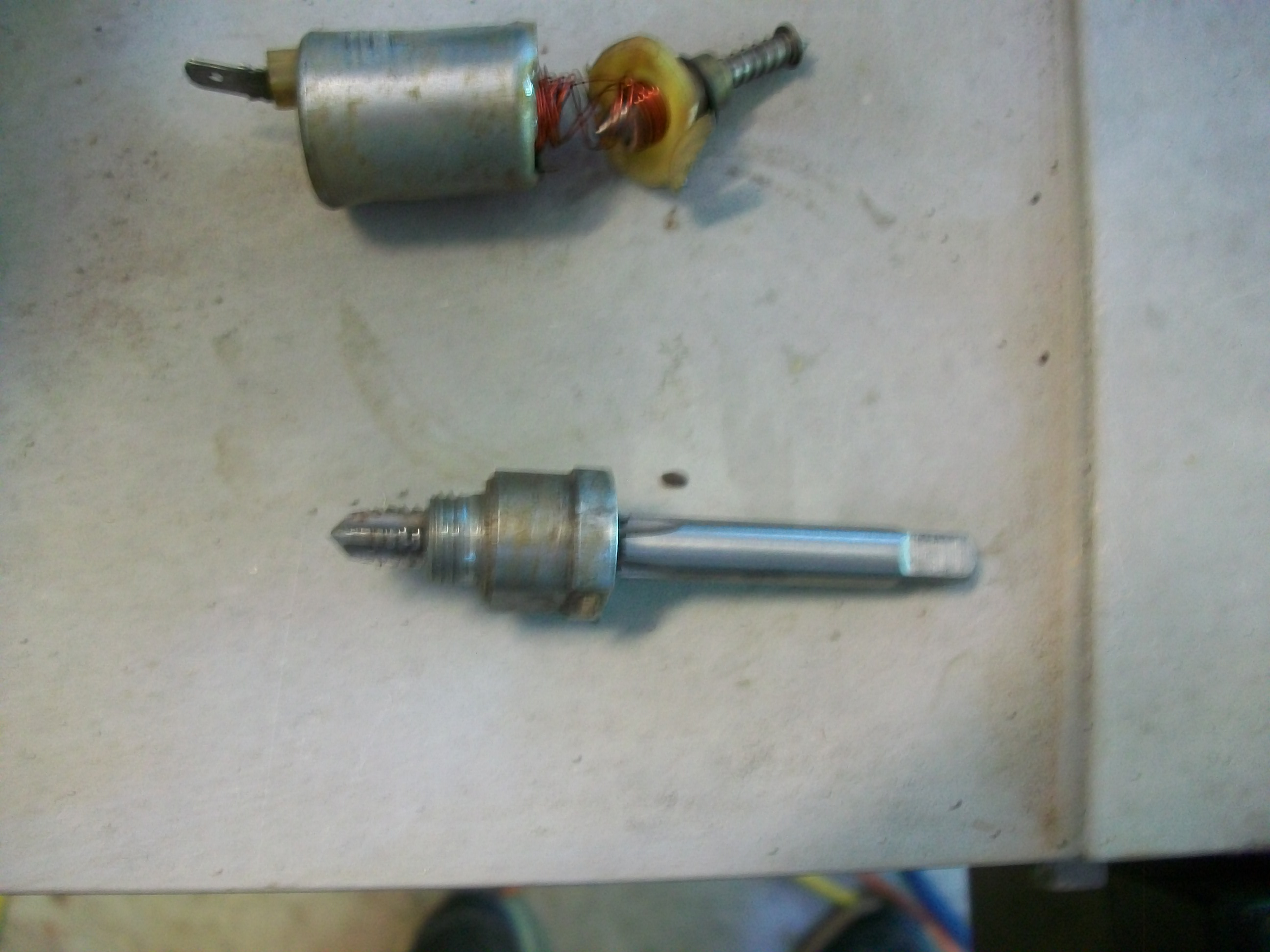 Removing and disabling the solenoid on carb bottom