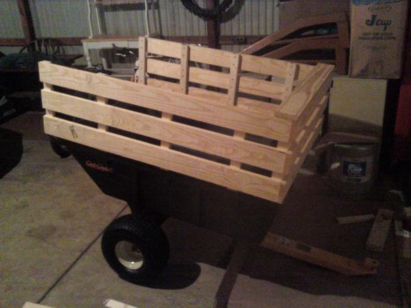 10p Polycart Side Rails How To My Tractor Forum