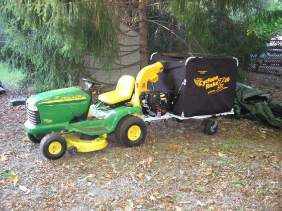 Click Image For Larger Version Name Cyclone Rake With John Deere Tractor Jpg Views