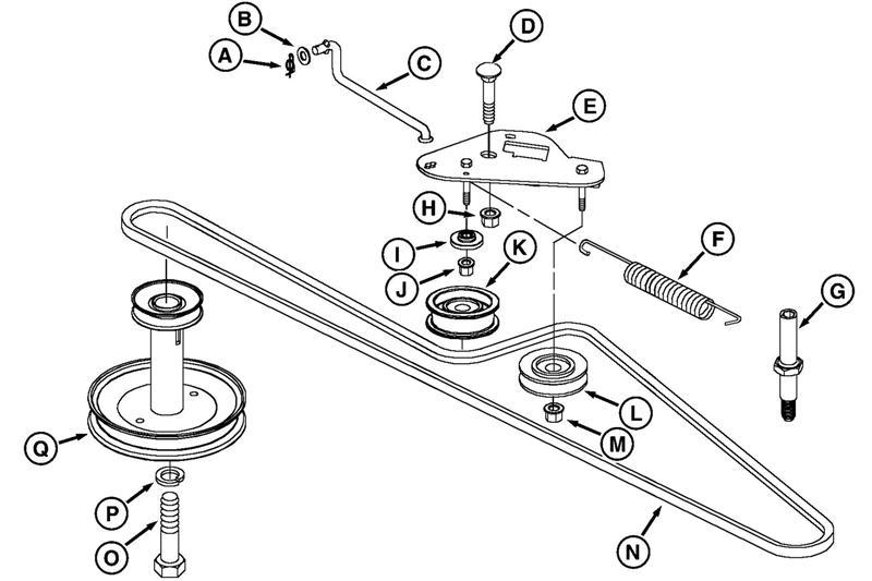John Deere D110 Belt Diagram