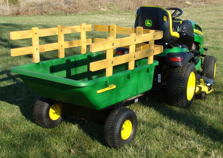 Brinly Deere Poly Cart Side Rails My Tractor Forum
