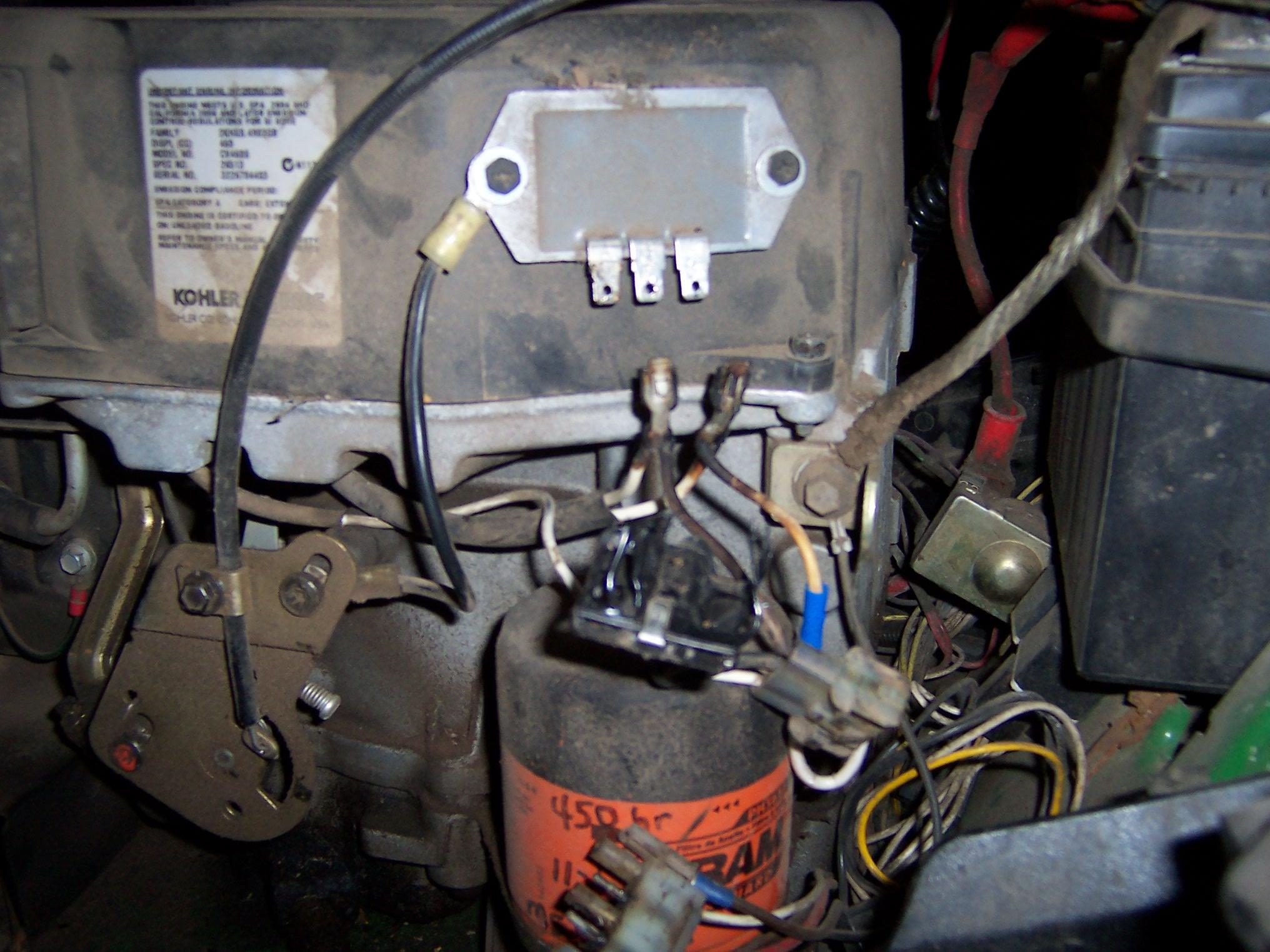 bad deere day burned wiring mytractorforum com the friendliest