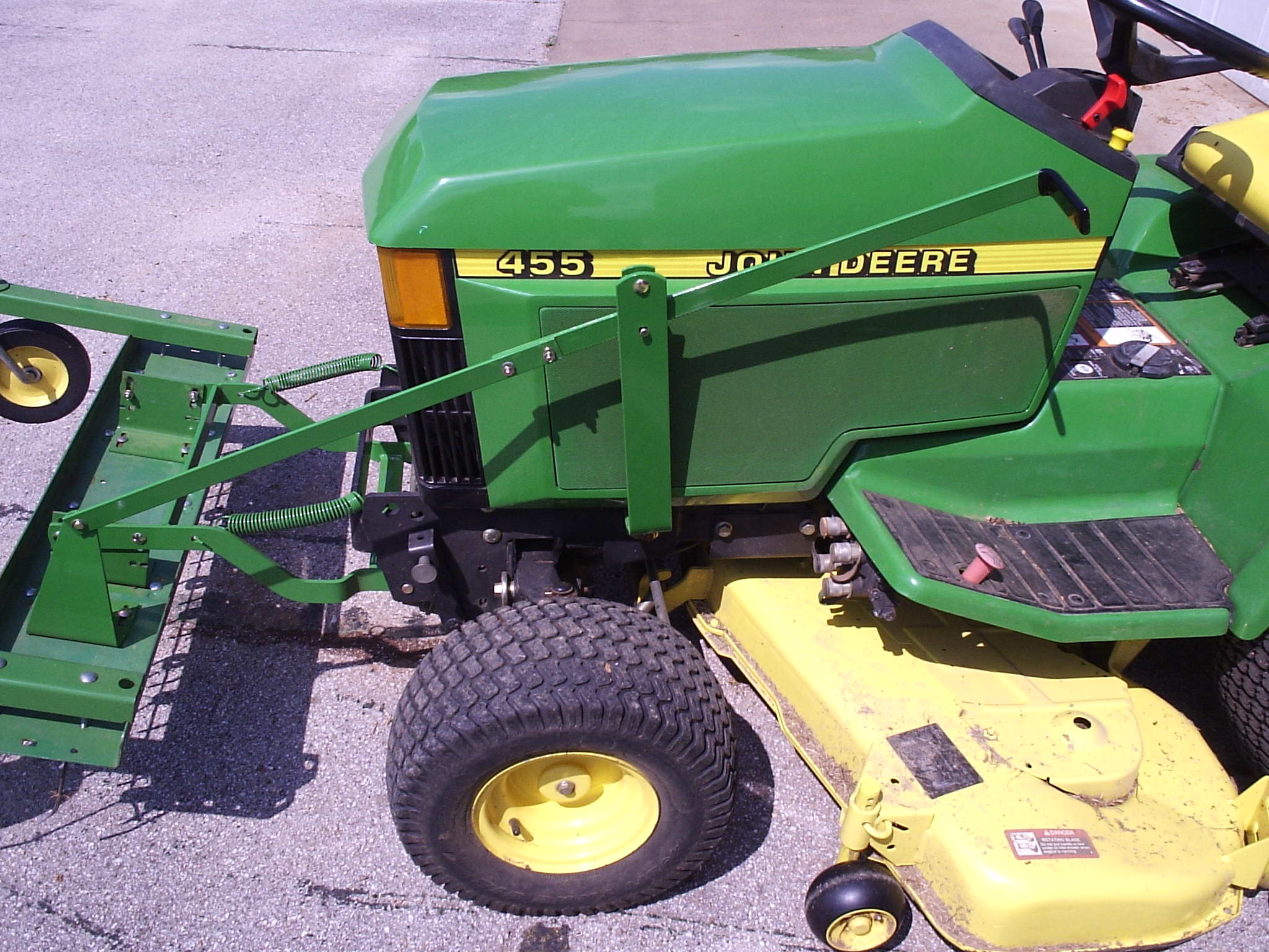 John Deere Front Thacher Mount Mytractorforum Com The