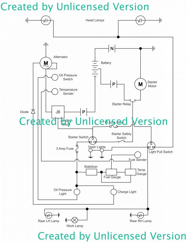 ford 5000 alternator wiring diagram | my tractor forum  my tractor forum
