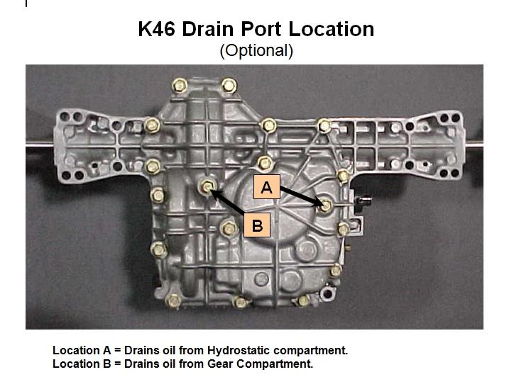 K46 Drain Plugs????? - MyTractorForum com - The Friendliest Tractor