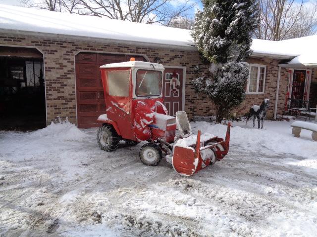 Snow blower cab - MyTractorForum com - The Friendliest