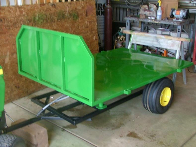 click image for larger version name dscf2202jpg views 126 size 1360 - Garden Tractor Trailer
