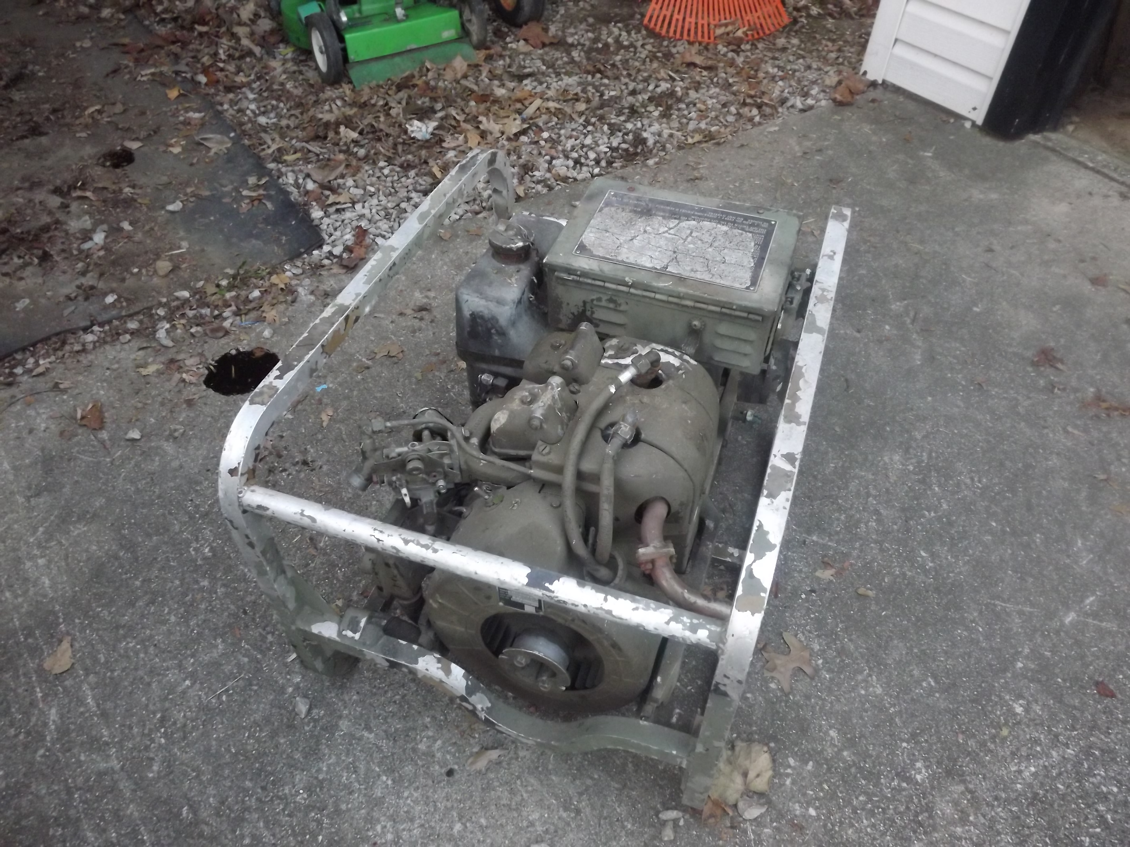Military Generator Engine - MyTractorForum com - The