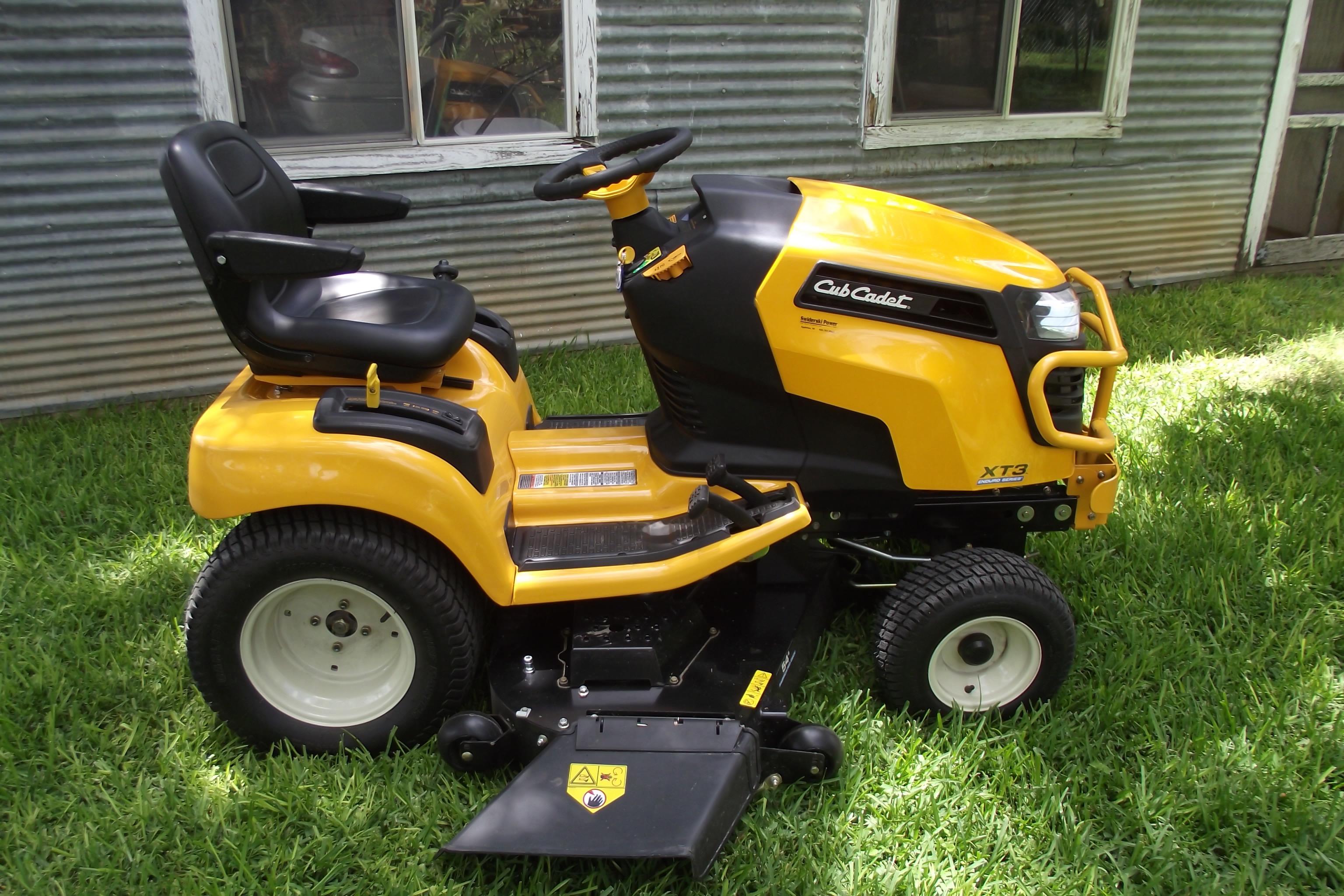 2016 Cub Cadet XT3 GSX Lawn Tractor MyTractorForum The