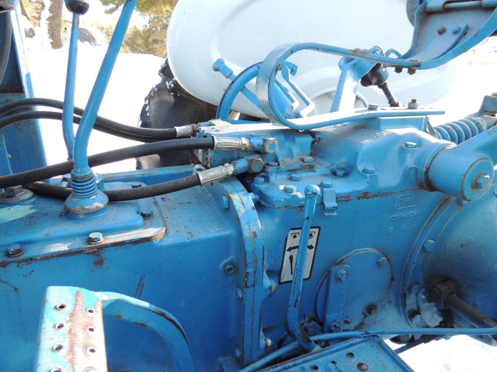 Ford 2000 Tractor Hydraulic Pump Location