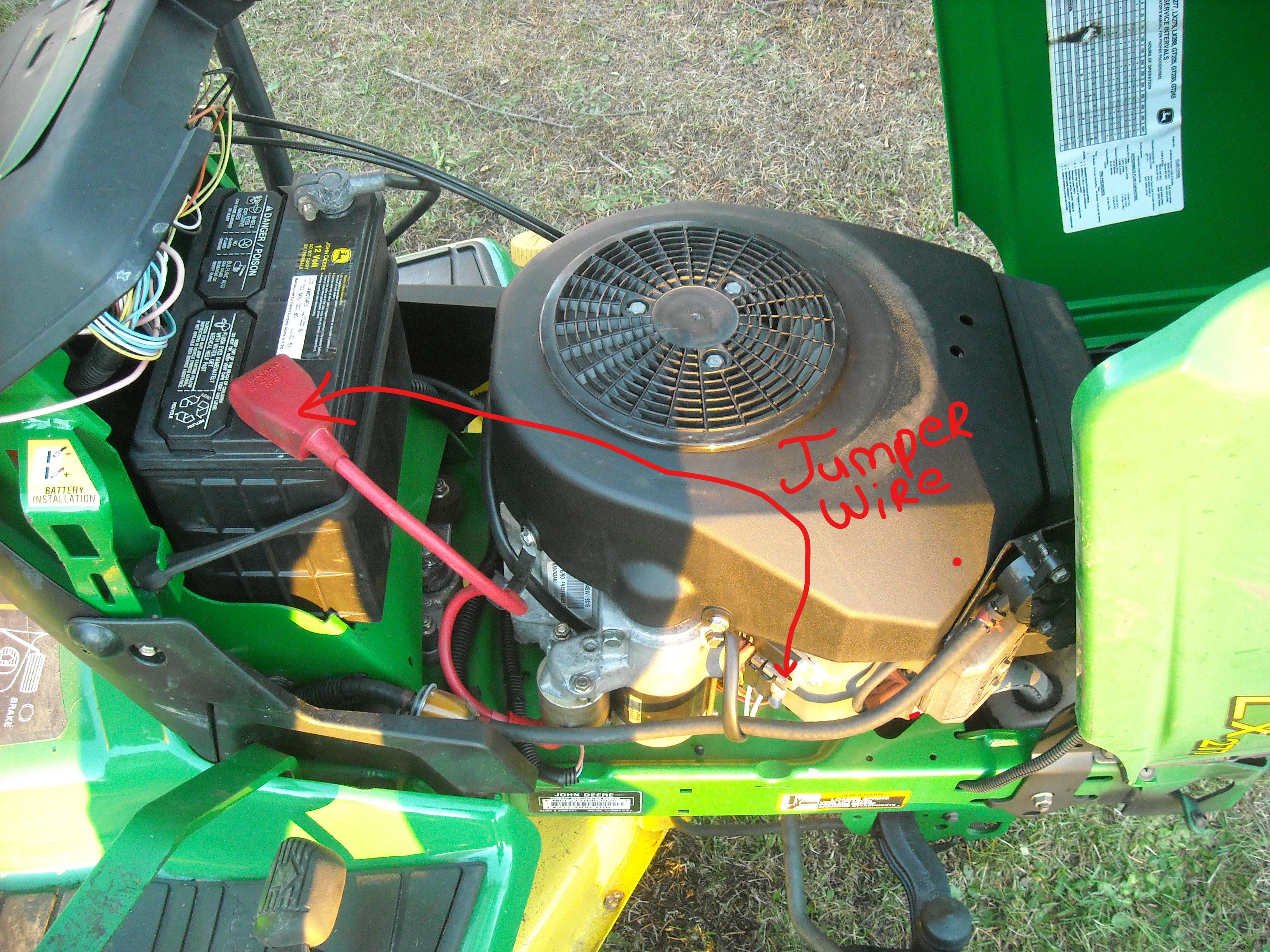 John Deere 330 Garden Tractor Alternator