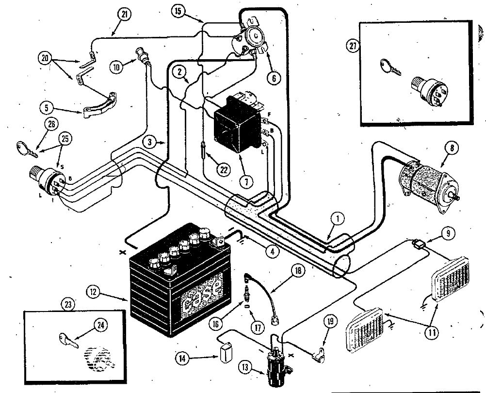 Case 222 wiring harness part# C18005 | My Tractor ForumMy Tractor Forum