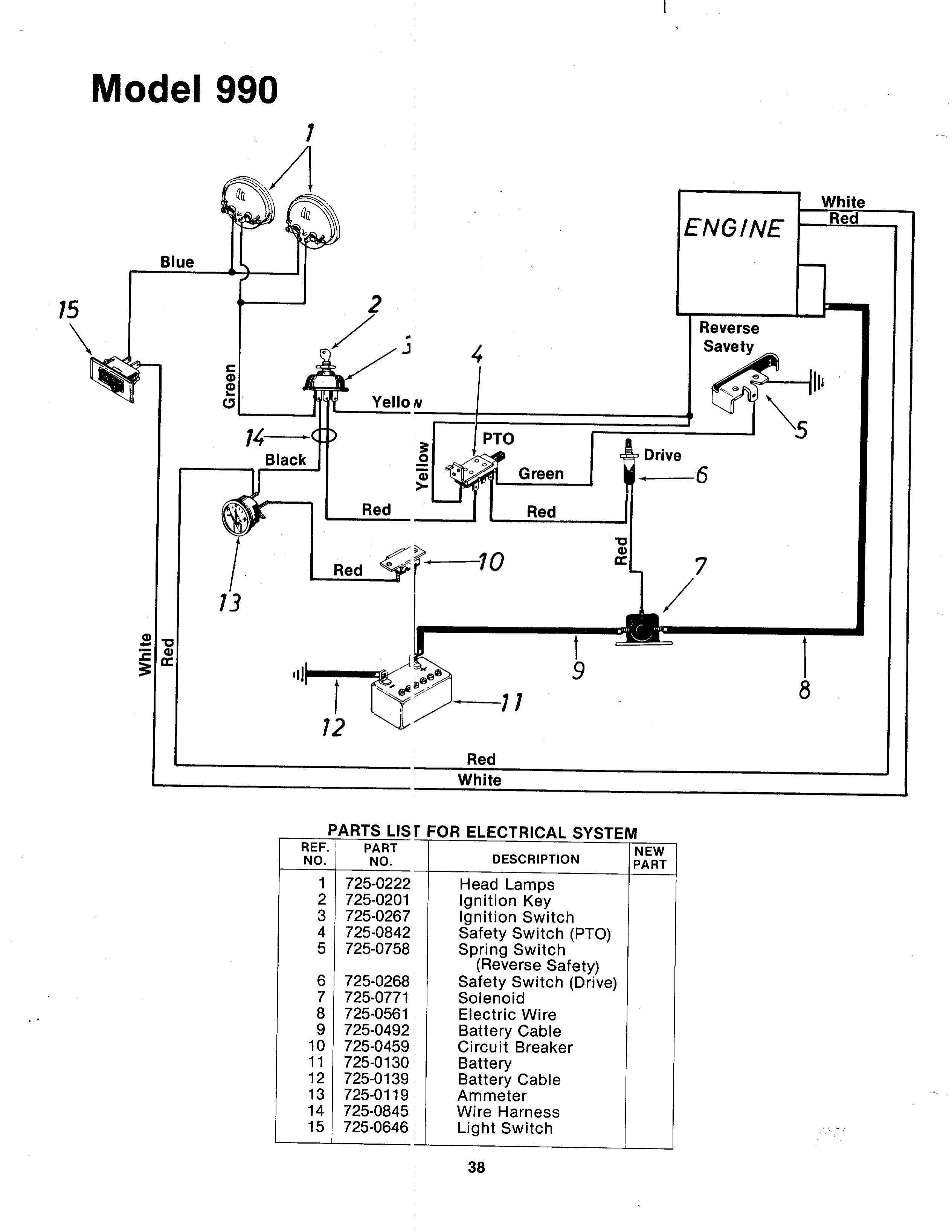 Mtd Starter Generator Wiring Diagram
