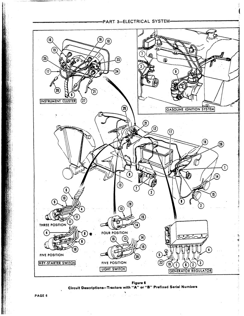 Ford 3000 Instrument Panel Wiring Diagram