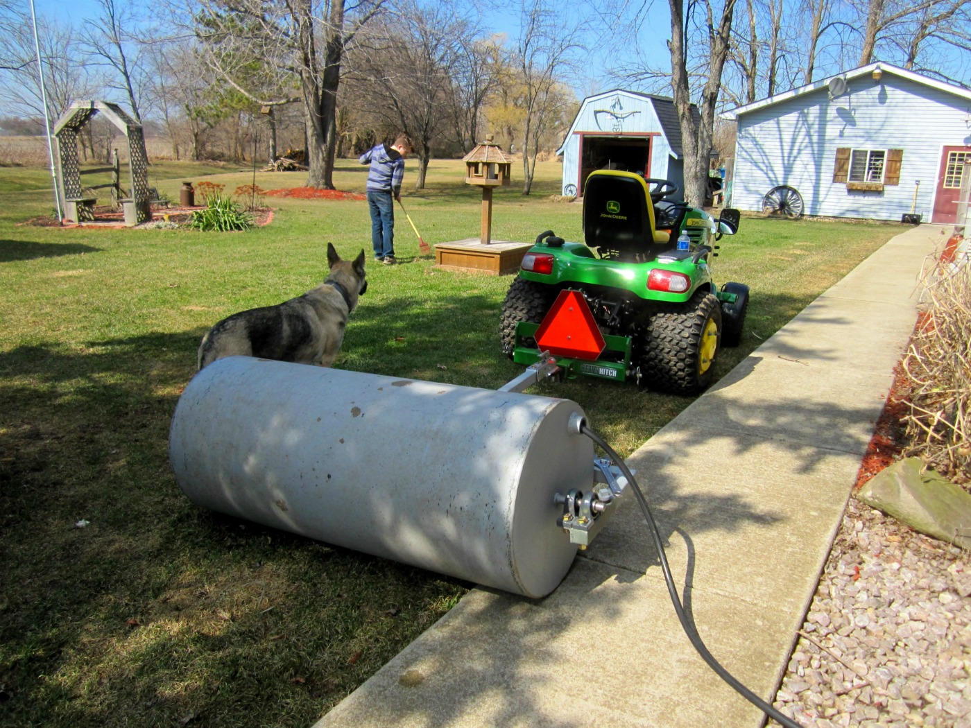 Lawn Roller Aerator Combo Droughtrelief Org