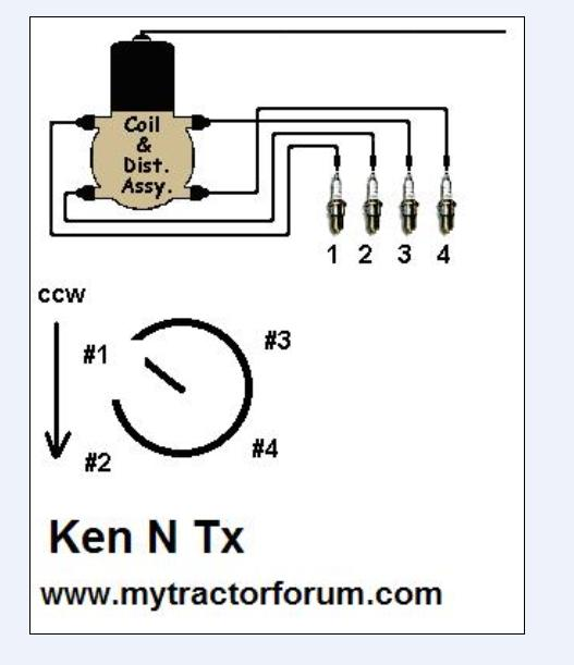 49 8n is sputtering - MyTractorForum.com - The Friendliest Tractor Ford N Front Mount Distributor Wiring Diagram on