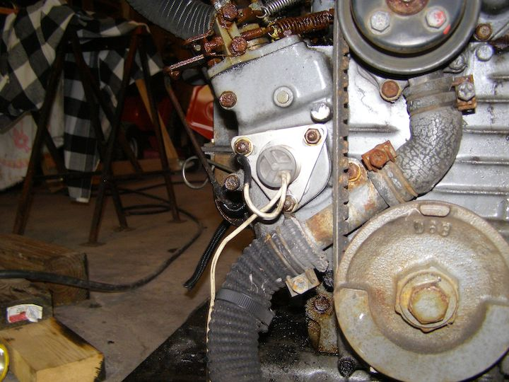 How to wire up a fuel shut off solenoid - MyTractorForum com