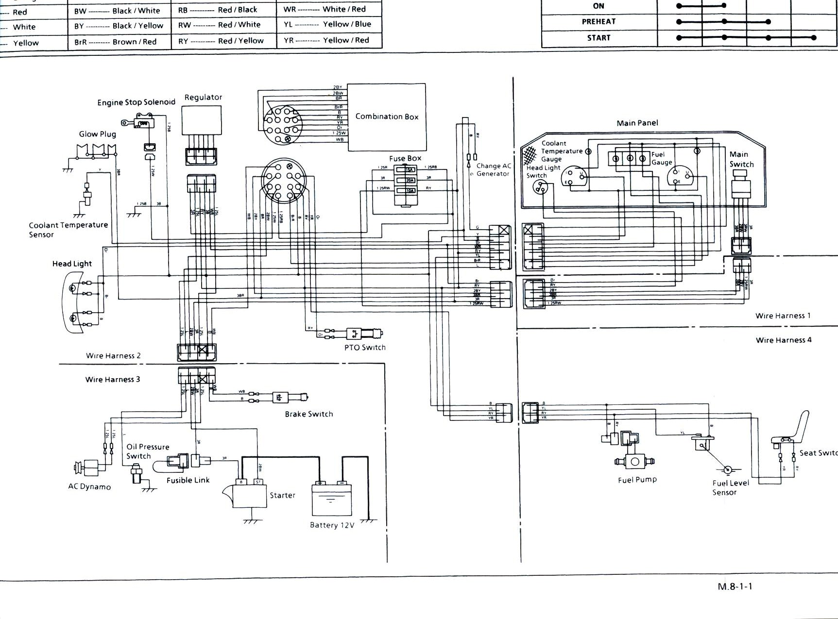 kubota radio wiring diagram wiring diagram kubota radio wiring diagram image about