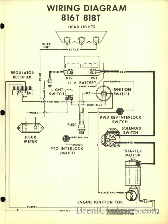 need help bad advice form archived post on how to test starter click image for larger version gravely 816t and 818t wiring diagram jpg views